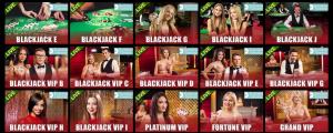 Grand Master Jack live casino offers