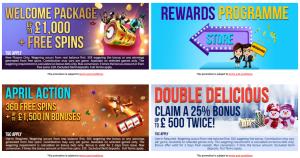 Spinzwin online casino promoties