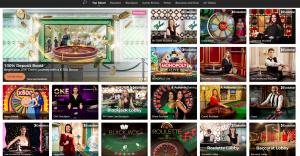 Mr. Green live casino
