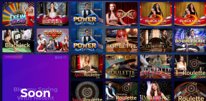 Cosmic Slot live casino