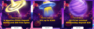 Cosmic Slot online casino promotions