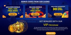 Savarona online casino promotions
