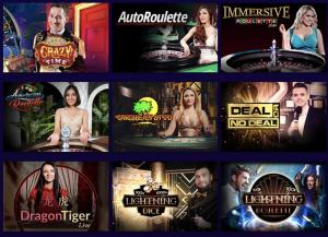 Playluck live casino