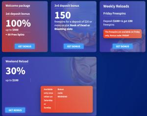 Wildblaster online casino promotions