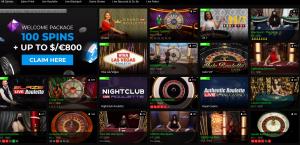 Fortune Jackpots live casino
