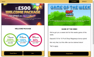 Jackpot Mobile promotions