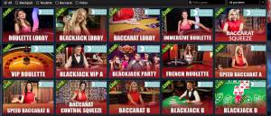 Jackpot Paradise live casino