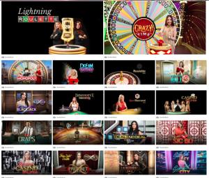 Jackpot mobile live casino
