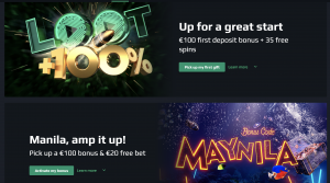 Loot bet promotions