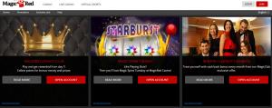 Magic Red online casino bonus