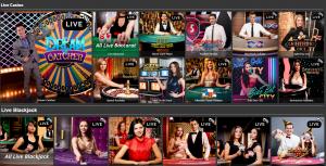 Quinnbet live casino