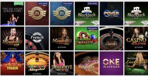 LuckyVegas live casino