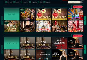 Vesper live casino
