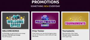 Slots Magic online casino bonus