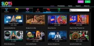 Slots Heaven live casino