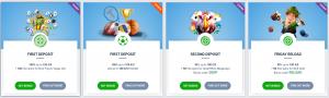 20 Bet online casino bonus