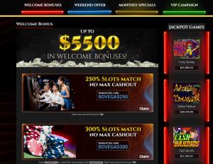 BoVegas online casino bonus