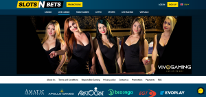 Slots N Bets live casino