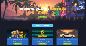 Wild Tornado online casino bonus